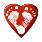 heart feet