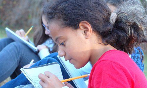 Kids Doing Homework 065
